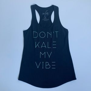 Francesca's Collections Tops - ❌❌SOLD❌❌🔹DONT KALE MY VIBE tank🔹